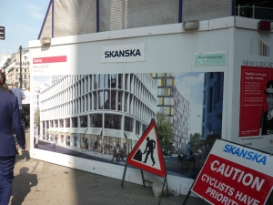 Artists Impression of a new office block on Old Bailey