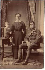 Grandma & Grandpa Hargreaves with Uncle Jack