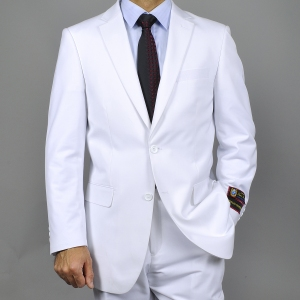 White-Two-button-Suit